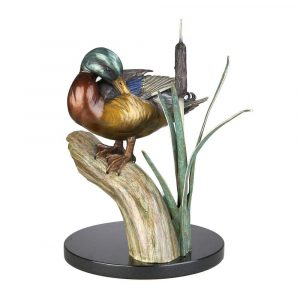 Duck | Hand Crafted Bronze Sculpture in Troutdale, Oregon