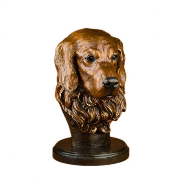 golden retriever, retriever, dog, portrait, canine bust, dog bust, dog face, pet memorial, pet portrait, pet statue, pet sculpture, Wildlife, rip caswell, Alison caswell, caswell sculpture, sculpture, bronze, statue, statuary, fine art, art, metal art, brass art, copper, foundry, firebird bronze, mammal, home décor, collection, traditional, modern, contemporary, troutdale, Oregon, Columbia river highway, Columbia gorge, limited edition, limited art, rare art, Bronze, statue, Caswell, sculpture, casting, art, fine art, monument, memorial, lost wax, bronze sculpture, bronze statue, public art, statuary, art investment, valuable art, art work, collectable art, limited edition, rare art, patron of the arts, tax free art, art collector, home décor, awards, corporate art, art foundry, bronze foundry, corporate awards, university mascots, campus sculpture, outdoor art, decorating with art, outdoor sculpture, Rip Caswell, Alison Caswell, Caswell sculpture, Troutdale art, historical art, contemporary art, western art, realism art, impressionistic art, realistic art, sculptor, sculptors, top sculptors, award winning art, Jackson hole art, northwest art, northwest artist, Oregon artist, Oregon sculptors, brass, figurines, rare, animals, conservation, national geographic, wildlife, endangered, red list, saving species, human sculpture, portrait, memorial, urns, carving, contemporary, modern, traditional, collection, abstract, patina