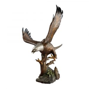 eagle, bronze, statue, monument