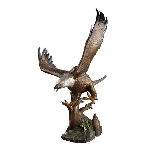 eagle, bronze, statue, monument