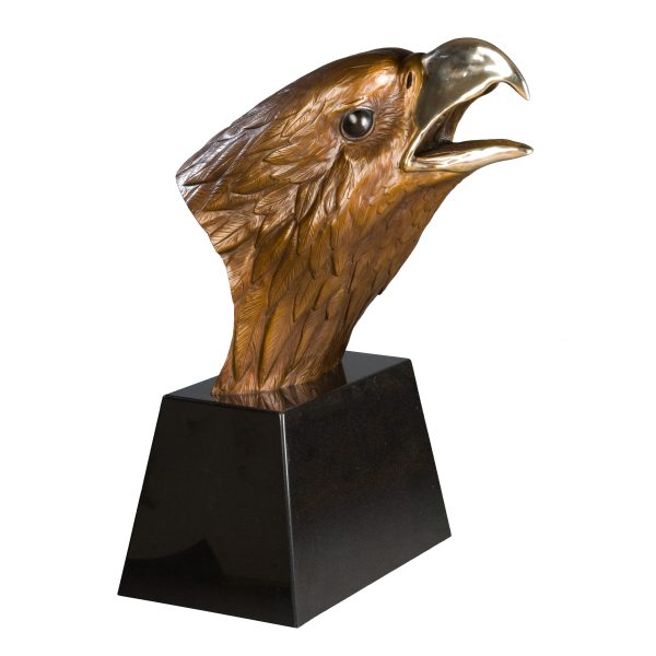 bronze eagle sculpture national geographic