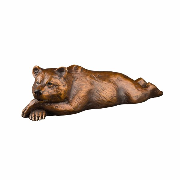 grizzly bear lying down, yellowstone national park, grand teton art, grand teton national park, Wildlife, rip caswell, Alison caswell, caswell sculpture, sculpture, bronze, statue, statuary, fine art, art, metal art, brass art, copper, foundry, firebird bronze, mammal, home décor, collection, traditional, modern, contemporary, troutdale, Oregon, Columbia river highway, Columbia gorge, limited edition, limited art, rare art, Bronze, statue, Caswell, sculpture, casting, art, fine art, monument, memorial, lost wax, bronze sculpture, bronze statue, public art, statuary, art investment, valuable art, art work, collectable art, limited edition, rare art, patron of the arts, tax free art, art collector, home décor, awards, corporate art, art foundry, bronze foundry, corporate awards, university mascots, campus sculpture, outdoor art, decorating with art, outdoor sculpture, Rip Caswell, Alison Caswell, Caswell sculpture, Troutdale art, historical art, contemporary art, western art, realism art, impressionistic art, realistic art, sculptor, sculptors, top sculptors, award winning art, Jackson hole art, northwest art, northwest artist, Oregon artist, Oregon sculptors, brass, figurines, rare, animals, conservation, national geographic, wildlife, endangered, red list, saving species, human sculpture, portrait, memorial, urns, carving, contemporary, modern, traditional, collection, abstract, patina, grizzly,