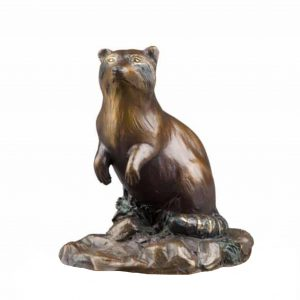 Caswell Sculpture bandit raccoon