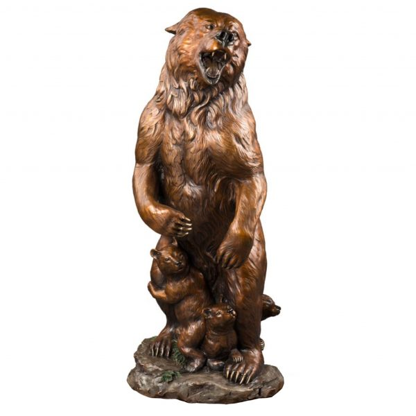 homeland security caswell sculpture bronze grizzly bear