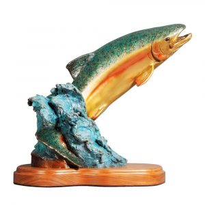 fish, fish statue, fish artwork, trout statue, trout bronze, salmon statue, salmon sclupture, trout bronze sculpture, rip caswell trout, fish splashing, fish jumping, fish jumping out of water, abstract, Alison Caswell, animals, art, art collector, art foundry, art investment, art work, award winning art, awards, brass, brass art, bronze, bronze foundry, bronze sculpture, bronze statue, campus sculpture, carving, casting, Caswell, Caswell sculpture, collectable art, collection, columbia gorge, columbia river highway, conservation, contemporary, contemporary art, copper, corporate art, corporate awards, decorating with art, endangered, figurines, fine art, firebird bronze, Fish, foundry, historic columbia river highway, historical art, home décor, human sculpture, impressionistic art, Jackson hole art, large, limited art, limited edition, lost wax, mammal, mayor square, memorial, metal art, mid, miniature, modern, Monument, national geographic, northwest art, northwest artist, Oregon, Oregon artist, Oregon sculptors, outdoor art, outdoor sculpture, patina, patron of the arts, portrait, public art, rare, rare art, realism art, realistic art, red list, Rip Caswell, salmon, saving species, sculptor, sculptors, sculpture, statuary, statue, tax free art, top sculptors, traditional, Trout, Troutdale, Troutdale art, university mascots, urns, valuable art, western art, Wildlife