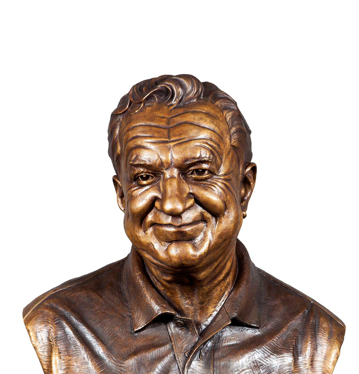 Caswell Bronze sculpture of Karl Miller