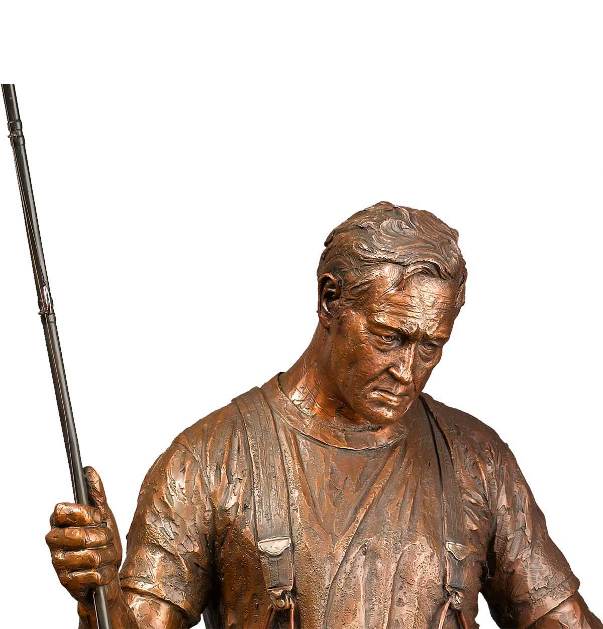 Caswell Bronze sculpture of Tom McCall