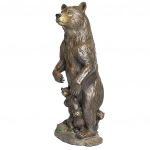 Matriarch of the west caswell sculpture grizzly bear bronze 399