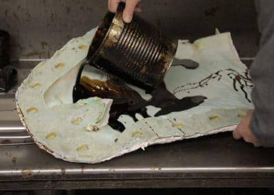 wax process bronze casting
