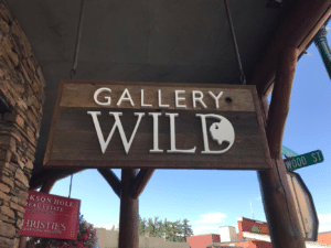 Gallery wild sign