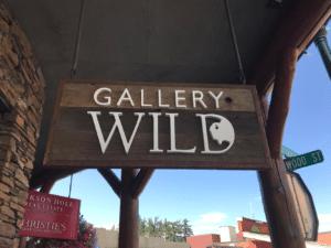Gallery wild sign