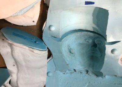 silicon rubber mold for sculpture