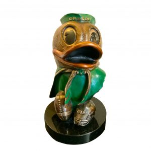 Oregon Duck Portrait bust
