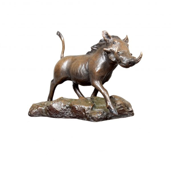 warthog caswell sculpture bronze