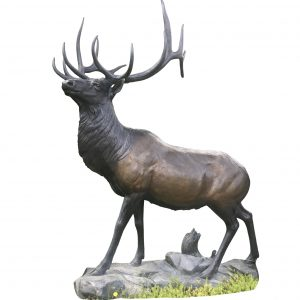 Exalted ruler elk bronze sculpture national geographic